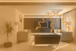 Fűtőpanel kisállatok lakhelyének melegítéséhez